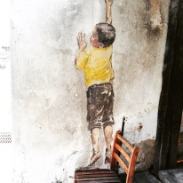 BOY REACHING FOR COOKIES MURAL (2)