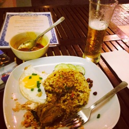 NONYA CHICKEN CURRY AND BEER