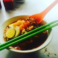 SOUP NOODLES WITH EGG
