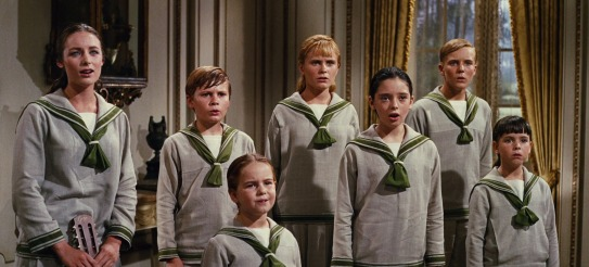 Von Trapp children from the movie