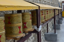 beautiful-prayer-wheels-at-the-monastery