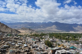 leh-and-snow-capped-mountains