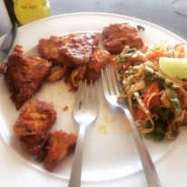 BONELESS FISH FRY I CANT GET USED TO IN GOA