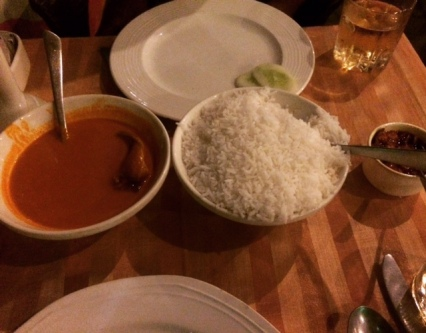 FISH CURRY AND RICE- A MUST HAVE