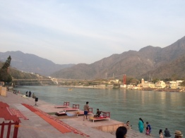 A VIEW OF RAM JHULA