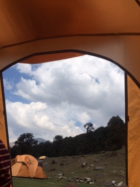 AVIEW FROM THE TENT