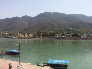 HOT AFTERNOON DAY NEAR RAM JHULA