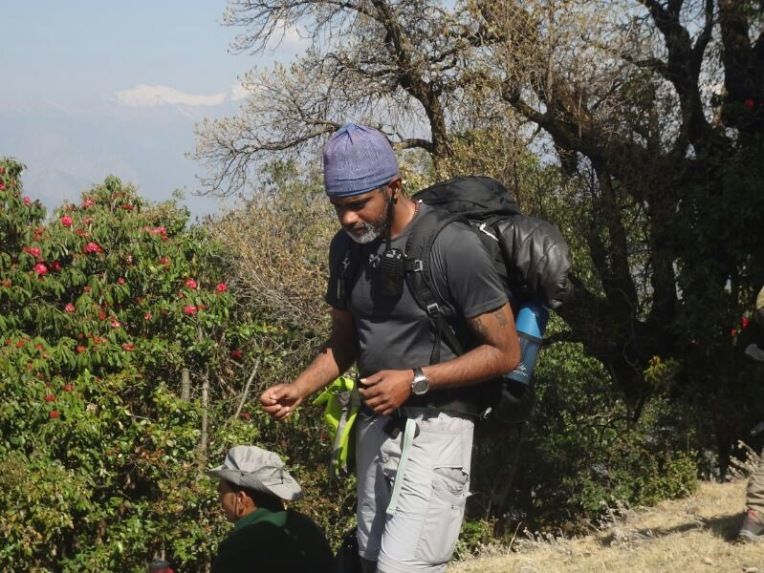 VENKAT TREK LEADER PHOTO CREDIT - SAIKAT