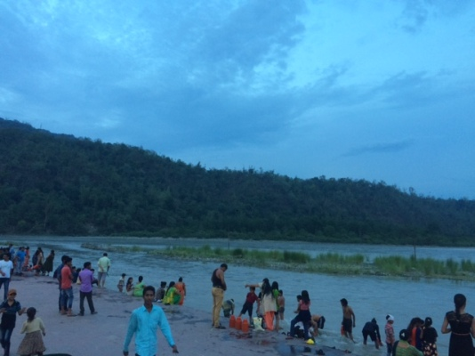 GANGA AND PEOPLE