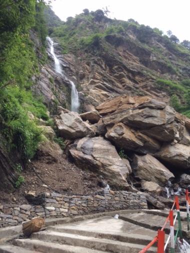 ROCKS AND WATERFALLS