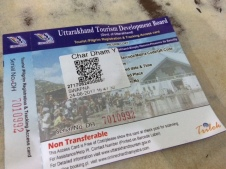 TRACKING ID CARD FOR THE YATRA