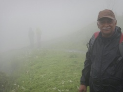 ZERO VISIBILITY AT THE TOP