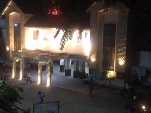 KATHGODAM STATION AT NIGHT