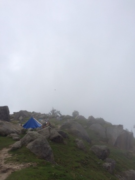 MIST ROCKS AND CAMPS