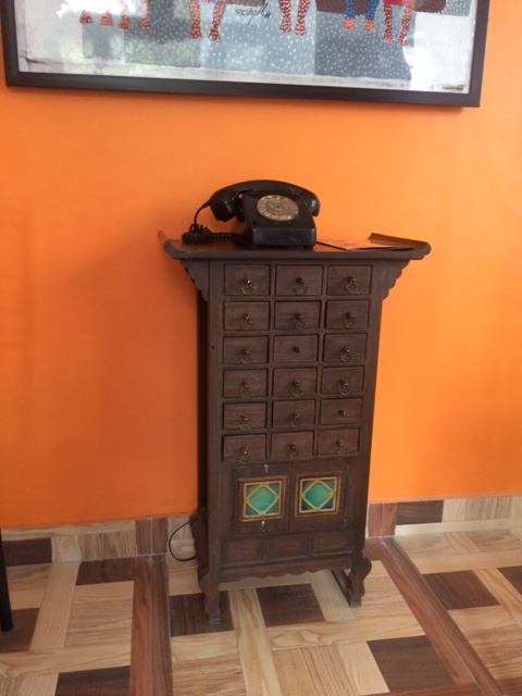 VINTAGE TELEPHONE AT BONG BOOK CAFE