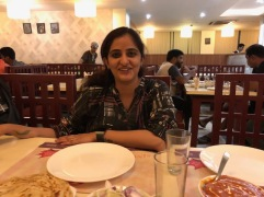 KAMAKSHI AND HER PRETTY SMILE
