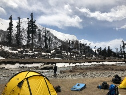DAZZLED BY OUR CAMPSITE