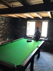 THAT SNOOKER TABLE AND MANOJ