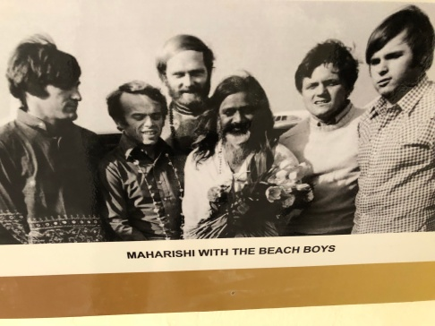 THE BEACH BOYS WITH MAHARISHI