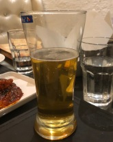 BEER AND PANEER AT AMBROSIA