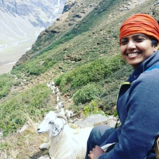 THE GOAT AND ME PHOTO CREDIT - NIRVI