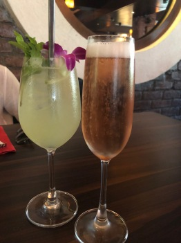 SPRITZER AND ROSE WINE AT BASTIAN