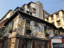 THE ARTWORK NEAR KALA GHODA AREA