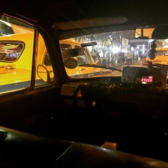 MAKING MY WAY IN THAT YELLOW CAB